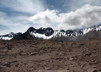 Cordillera de los Andes, sector Mulluri