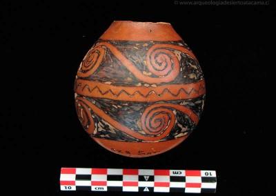 AlarcónSitio Az-8, valle de Azapa, Período Intermedio Tardío (Colección Museo Universidad de Tarapacá San Miguel de Azapa)