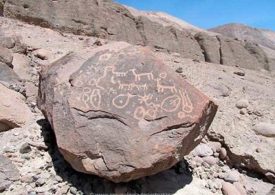 Sitio Chamarcusa, valle de Azapa
