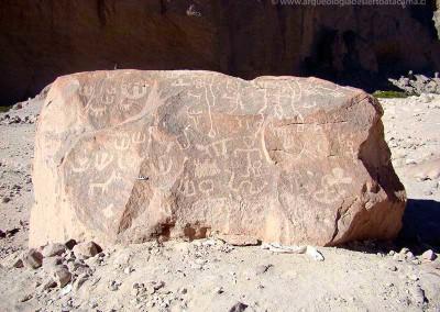 Sitio Chilpe, valle de Azapa