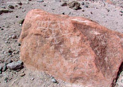 Sitio Huancarane 1, valle de Camarones