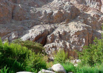 Río San José, valle de Azapa