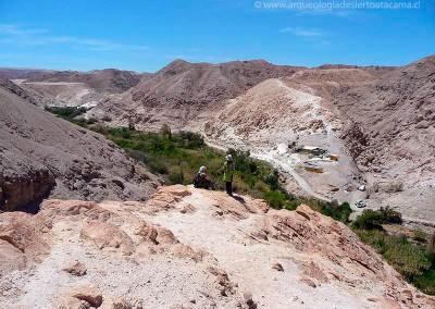 Ofragía-1, valle de Codpa, vista desde Ofragía 2