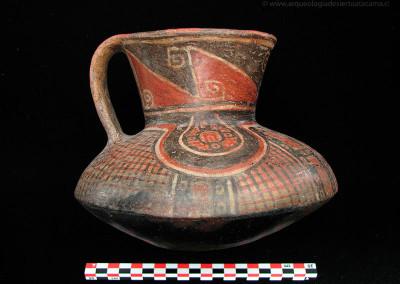 Sitio PLM-3, costa de Arica, Período Intermedio Tardío (Colección Museo Universidad de Tarapacá San Miguel de Azapa)