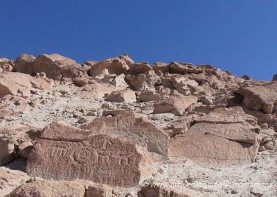 """Proyecto """"Diagnóstico Puesta en Valor Yacimiento Arqueológico Petroglifos Ofragía y Cerro Blanco"""""""